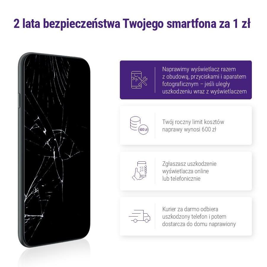 Nowość w Play MIX - ubezpieczenie ekranu smartfona (i nie tylko) za złotówkę (!)