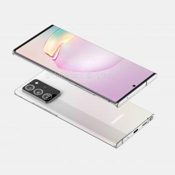 Samsung Galaxy Note 20 Plus smartphone