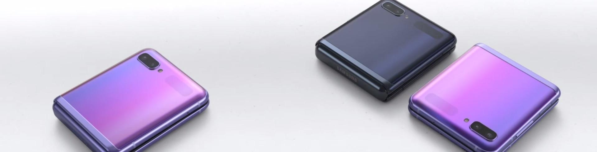 Samsung Galaxy Z Flip Mirror Black Purple