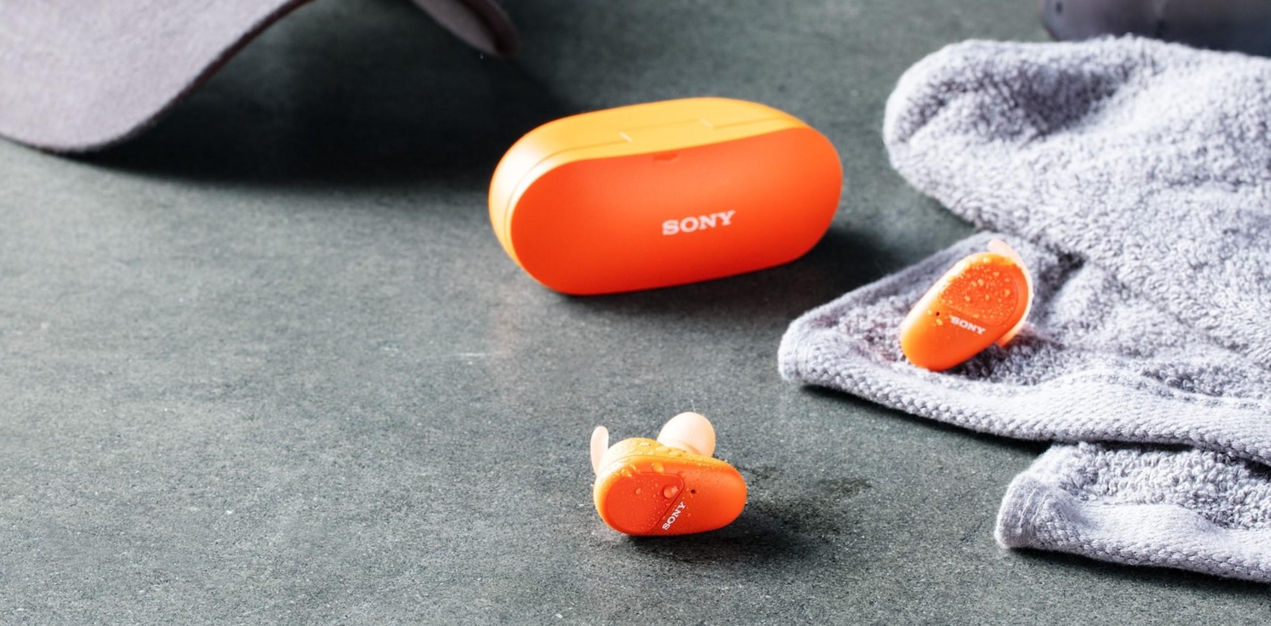 Nowe słuchawki TWS dla sportowców od Sony. To samo, świetne ANC i odporność na zachlapania 18