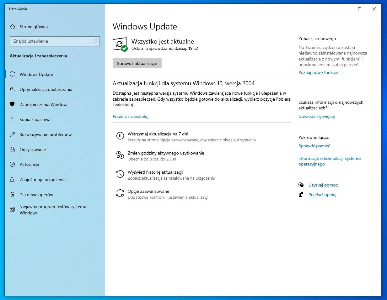 Majowa aktualizacja Windows 10 już dostępna. Co nowego?