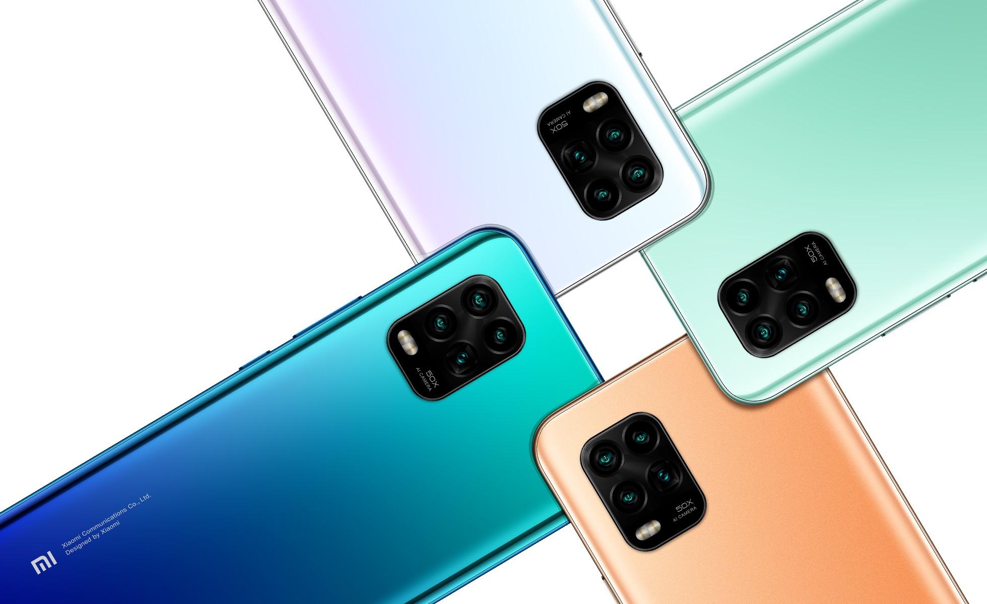 Xiaomi Mi 10 Youth Edition 5G smartphone