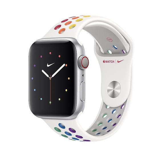 Nowe, tęczowe paski do Apple Watch jako wyraz wsparcia dla organizacji LGBTQ