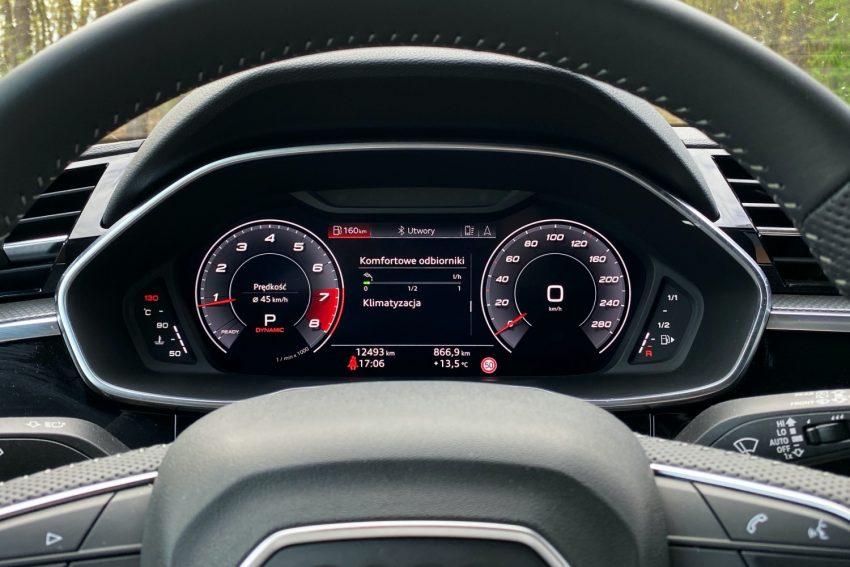 Audi Q3 Sportback - sprawdziłem, co oferuje wirtualny kokpit 30