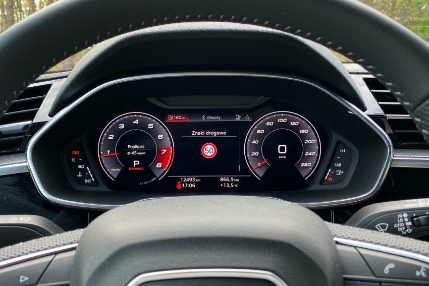 Audi Q3 Sportback - sprawdziłem, co oferuje wirtualny kokpit 21