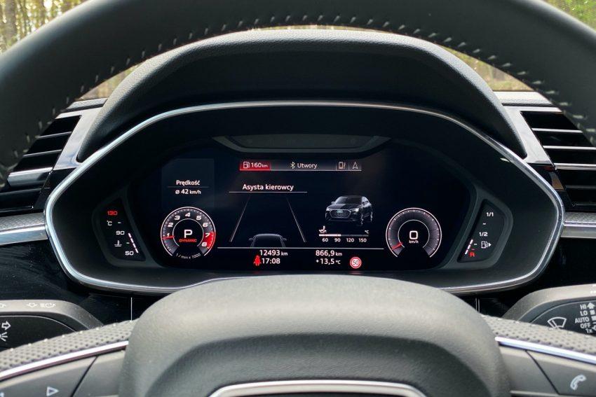 Audi Q3 Sportback - sprawdziłem, co oferuje wirtualny kokpit 22