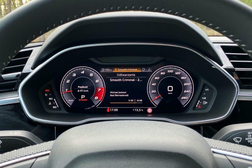 Audi Q3 Sportback - sprawdziłem, co oferuje wirtualny kokpit 24