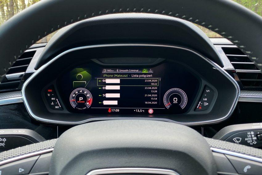 Audi Q3 Sportback - sprawdziłem, co oferuje wirtualny kokpit 26