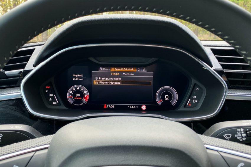 Audi Q3 Sportback - sprawdziłem, co oferuje wirtualny kokpit 37