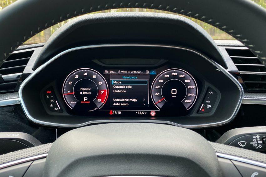 Audi Q3 Sportback - sprawdziłem, co oferuje wirtualny kokpit 35