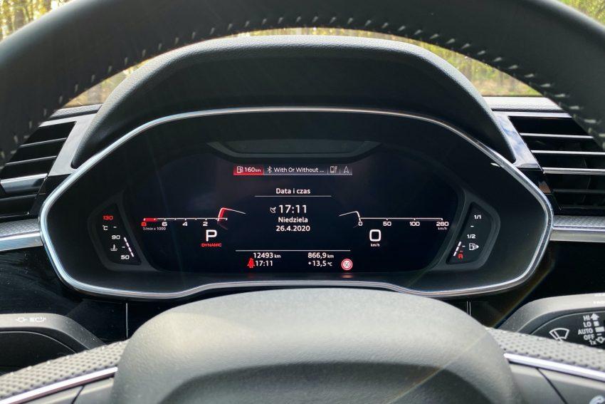 Audi Q3 Sportback - sprawdziłem, co oferuje wirtualny kokpit 31
