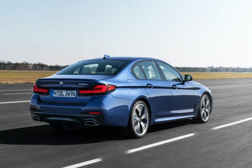 BMW odświeża serię 5 i wreszcie wprowadza Android Auto 23