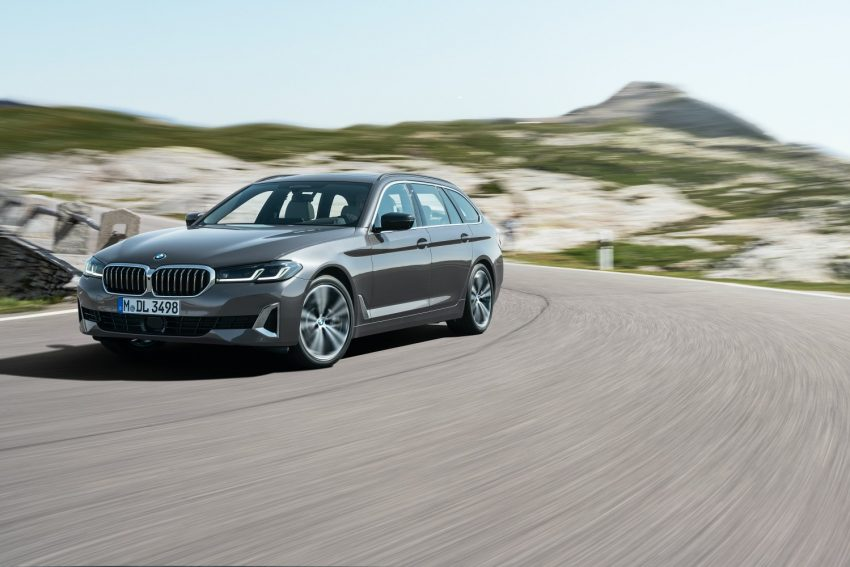 BMW odświeża serię 5 i wreszcie wprowadza Android Auto 24
