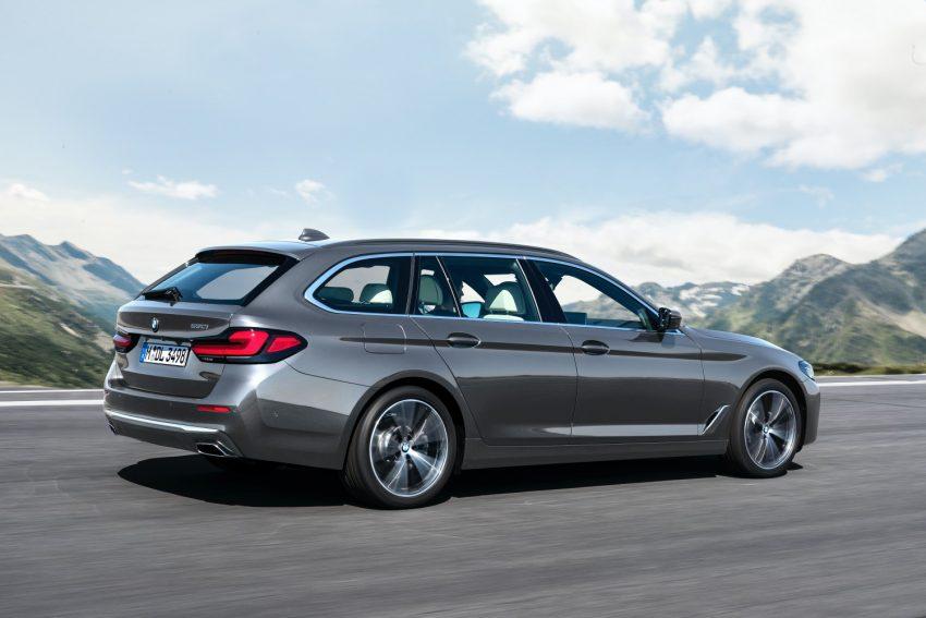 BMW odświeża serię 5 i wreszcie wprowadza Android Auto 25