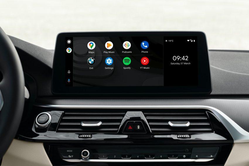 BMW odświeża serię 5 i wreszcie wprowadza Android Auto 16
