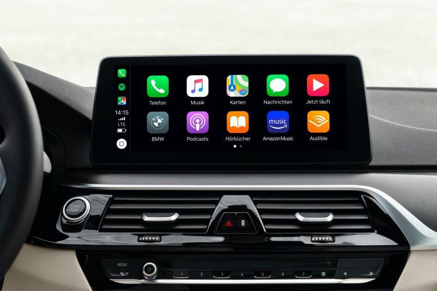 BMW odświeża serię 5 i wreszcie wprowadza Android Auto 17