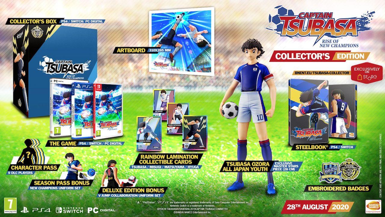 Patrzcie i się zachwycajcie - oto wydania kolekcjonerskie Captain Tsubasa: Rise of New Champions