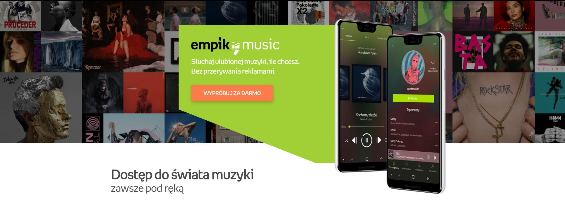 Recenzja EMPIK Music - czy ma szansę w starciu z wielkimi? 21