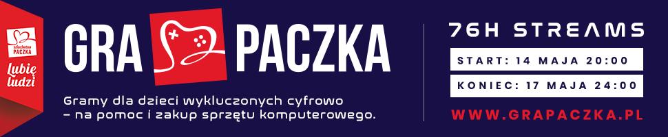Gra Paczka - piękna inicjatywa Szlachetnej Paczki, branży technologicznej i polskich streamerów