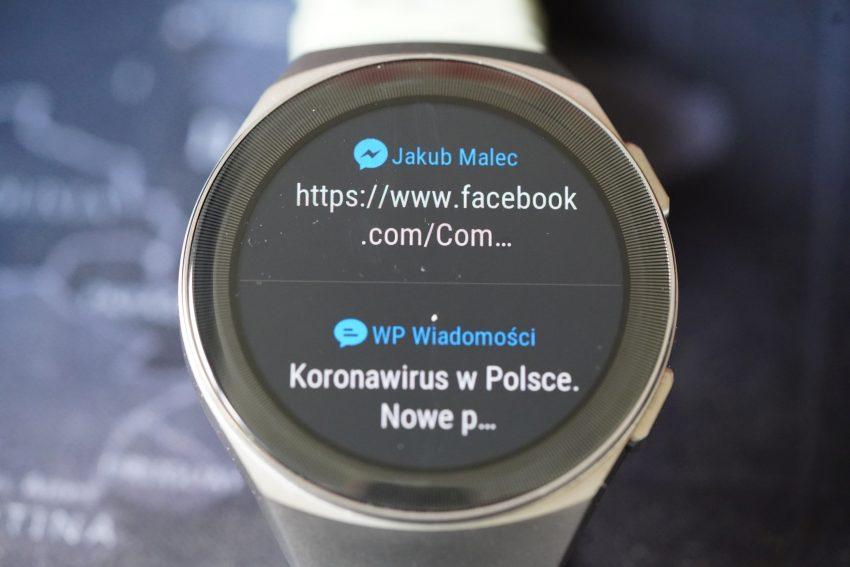 Recenzja Huawei Watch GT 2e - usportowiona i tańsza wersja Watcha GT 2 39