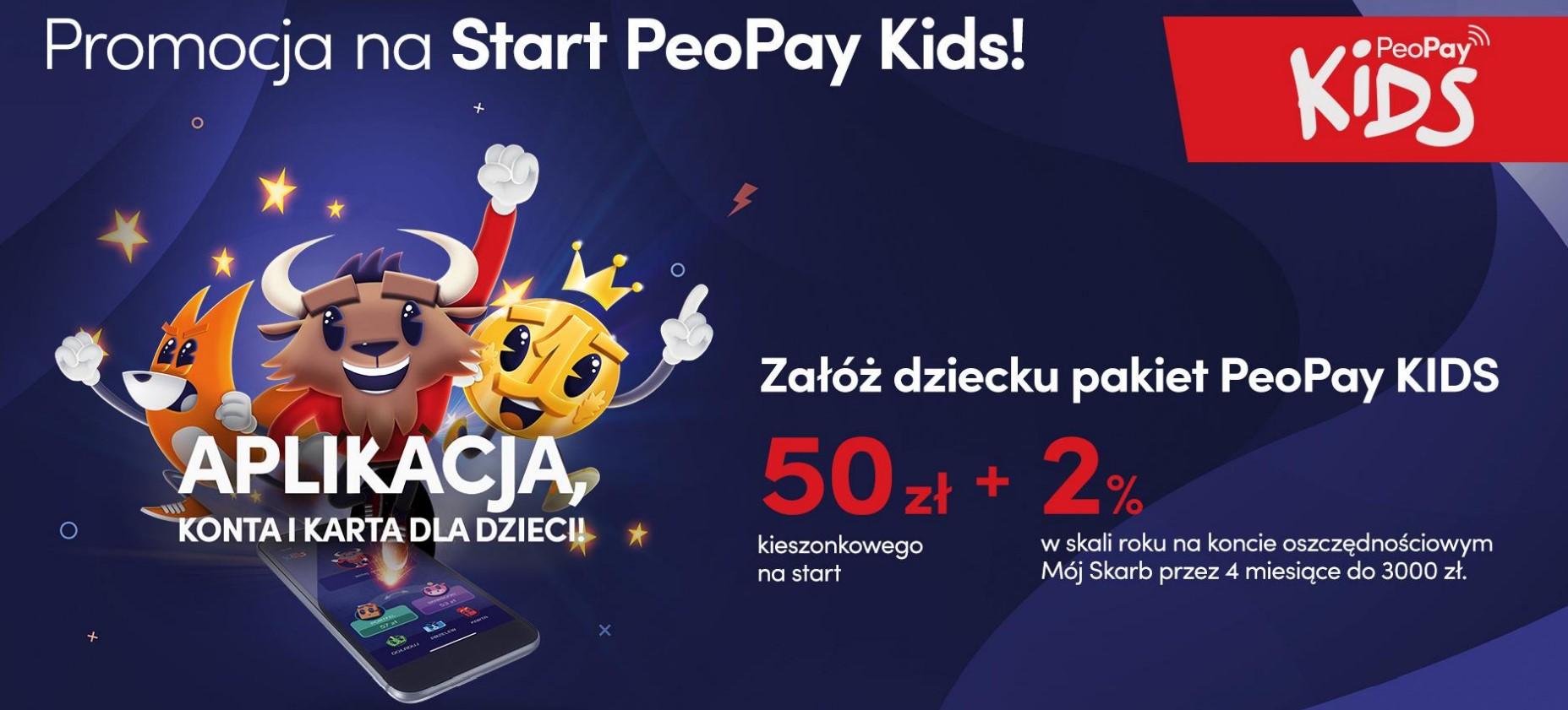 PeoPay Kids - mobilna aplikacja bankowa dla najmłodszych od Pekao SA już dostępna