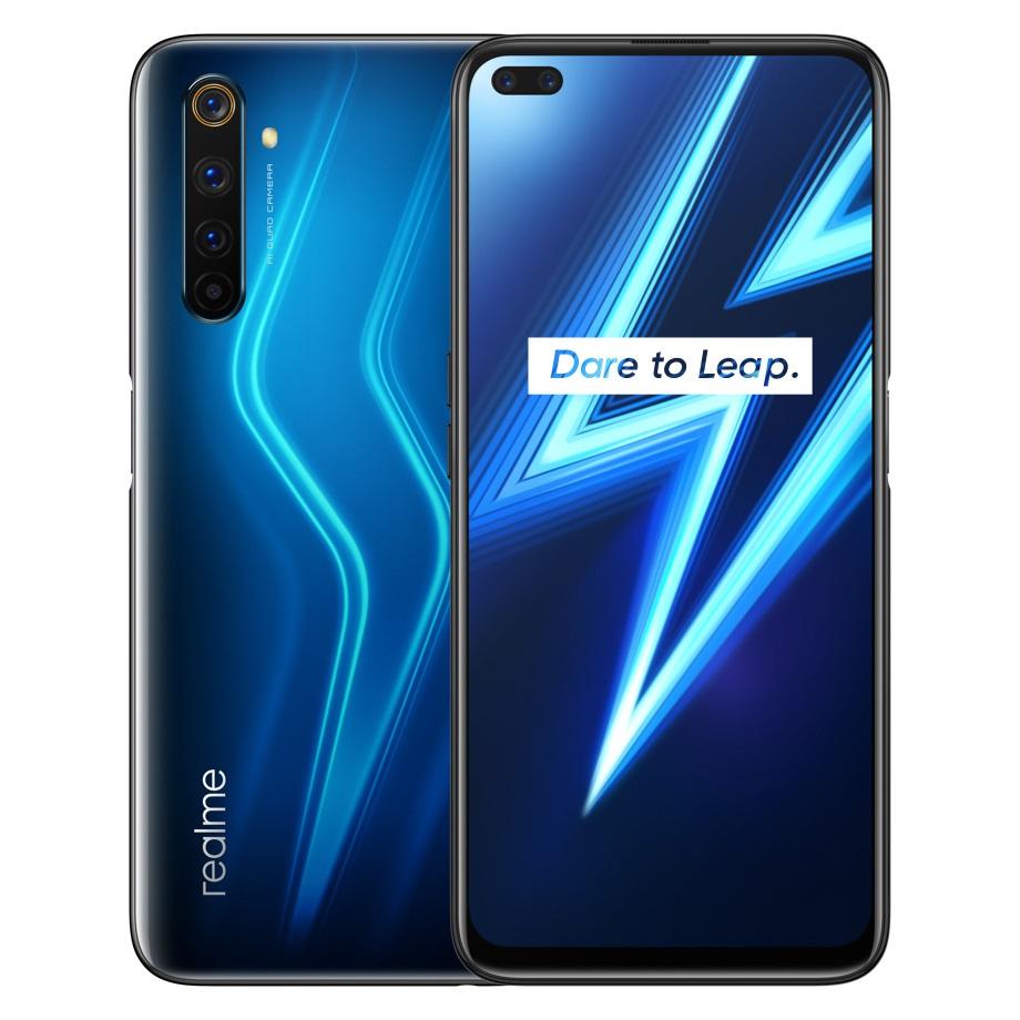 realme 6 Pro Lightning Blue smartphone