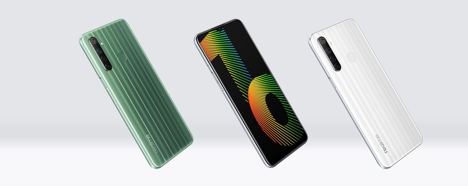 realme Narzo 10 smartphone
