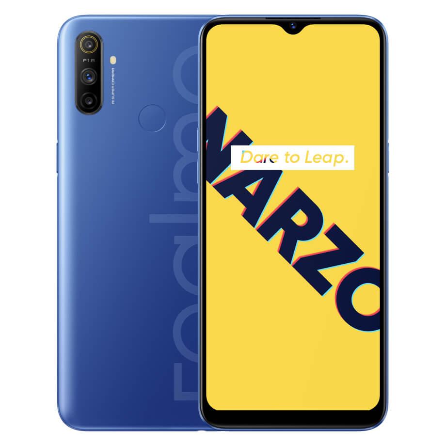 realme Narzo 10A smartphone