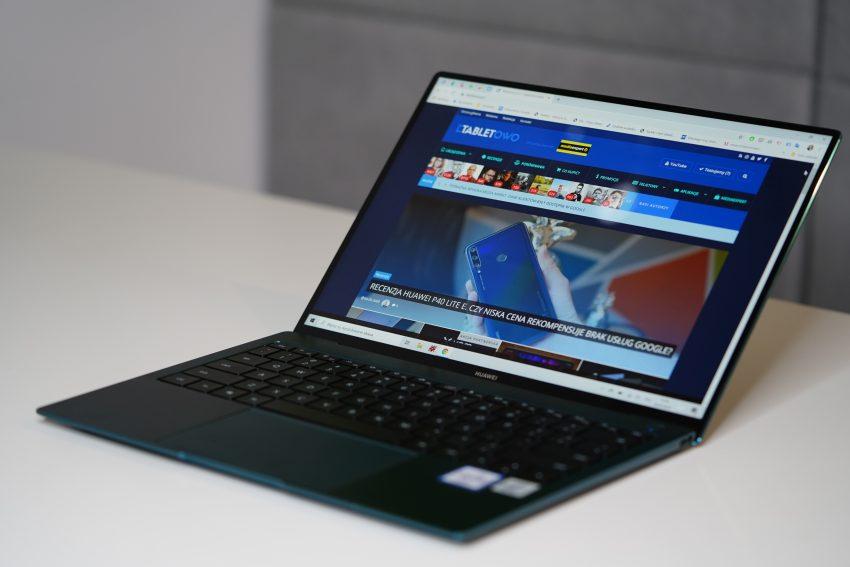 Recenzja Huawei MateBook X Pro 2020 - nowy procesor, zielony kolor i... brak Dolby Atmos 58