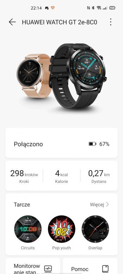 Recenzja Huawei Watch GT 2e - usportowiona i tańsza wersja Watcha GT 2 29