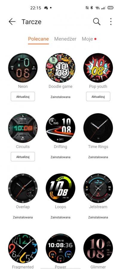 Recenzja Huawei Watch GT 2e - usportowiona i tańsza wersja Watcha GT 2 47