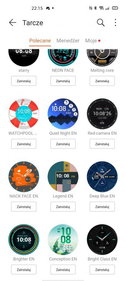 Recenzja Huawei Watch GT 2e - usportowiona i tańsza wersja Watcha GT 2 49