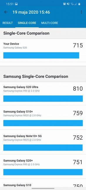 Samsung Galaxy S20 - najmniejszy z serii, choć wcale nie mały (recenzja) 100