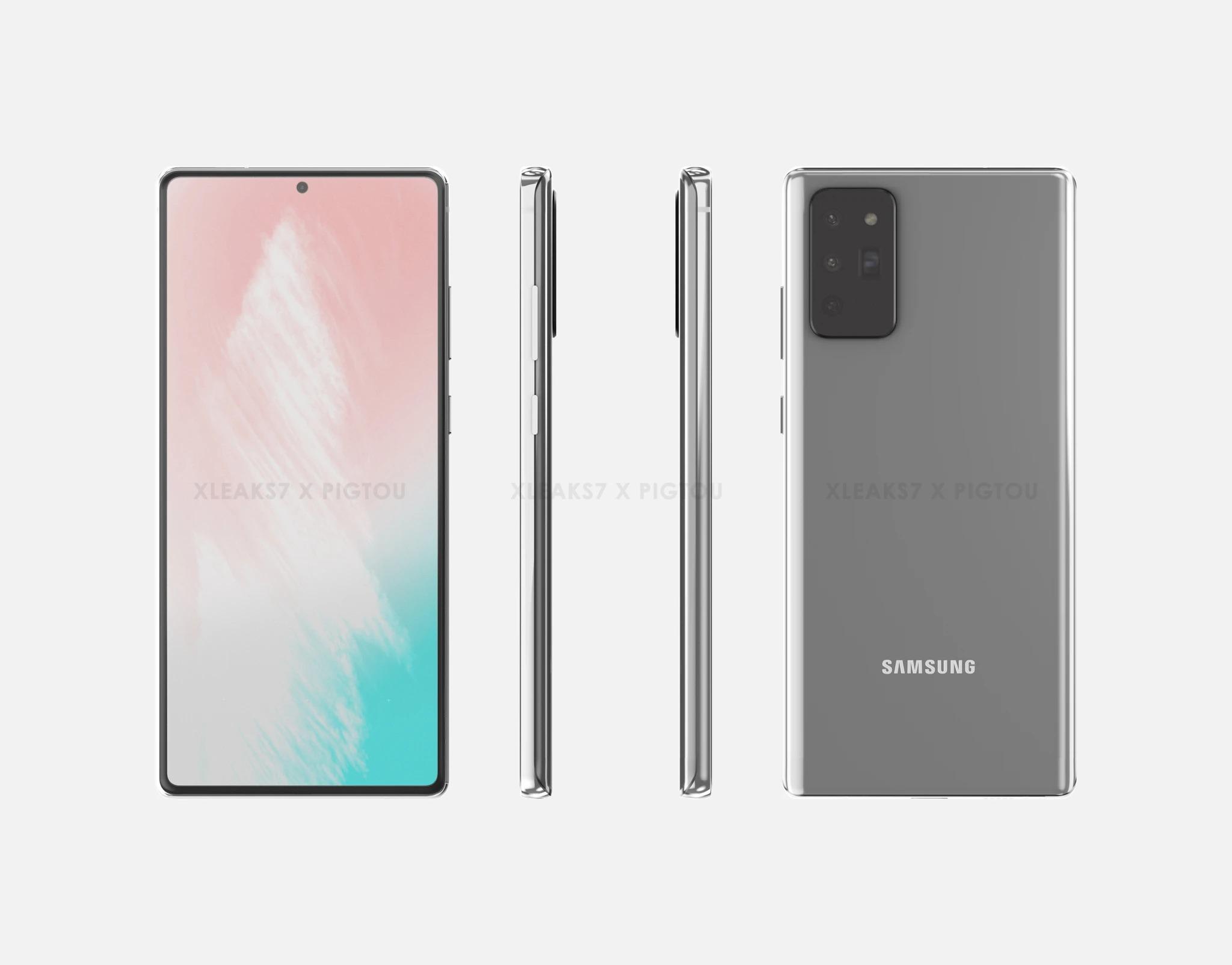 Samsung Galaxy Note 20 pozuje na nowych grafikach. Wzbudza emocje, czy już raczej nie?