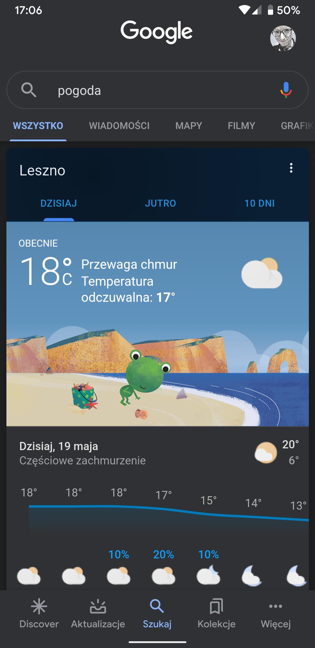 Tryb ciemny w aplikacji Google wreszcie zaczyna działać na Androidzie 10 i iOS