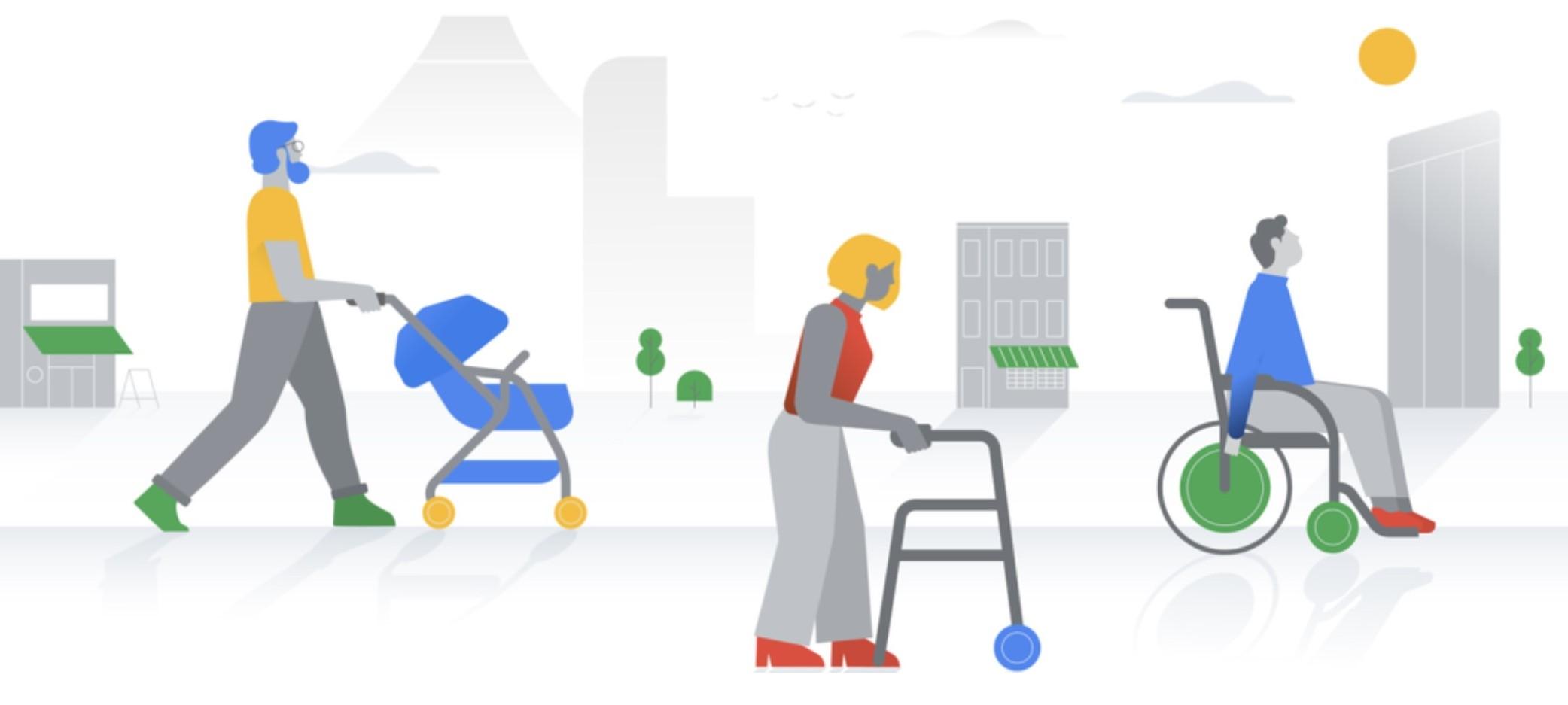 Mapy Google wyróżnią lokalizacje dostępne dla niepełnosprawnych za pomocą ikony wózka inwalidzkiego