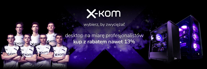 Skorzystaj z promocji na desktopy x-kom i graj jak profesjonalista 18