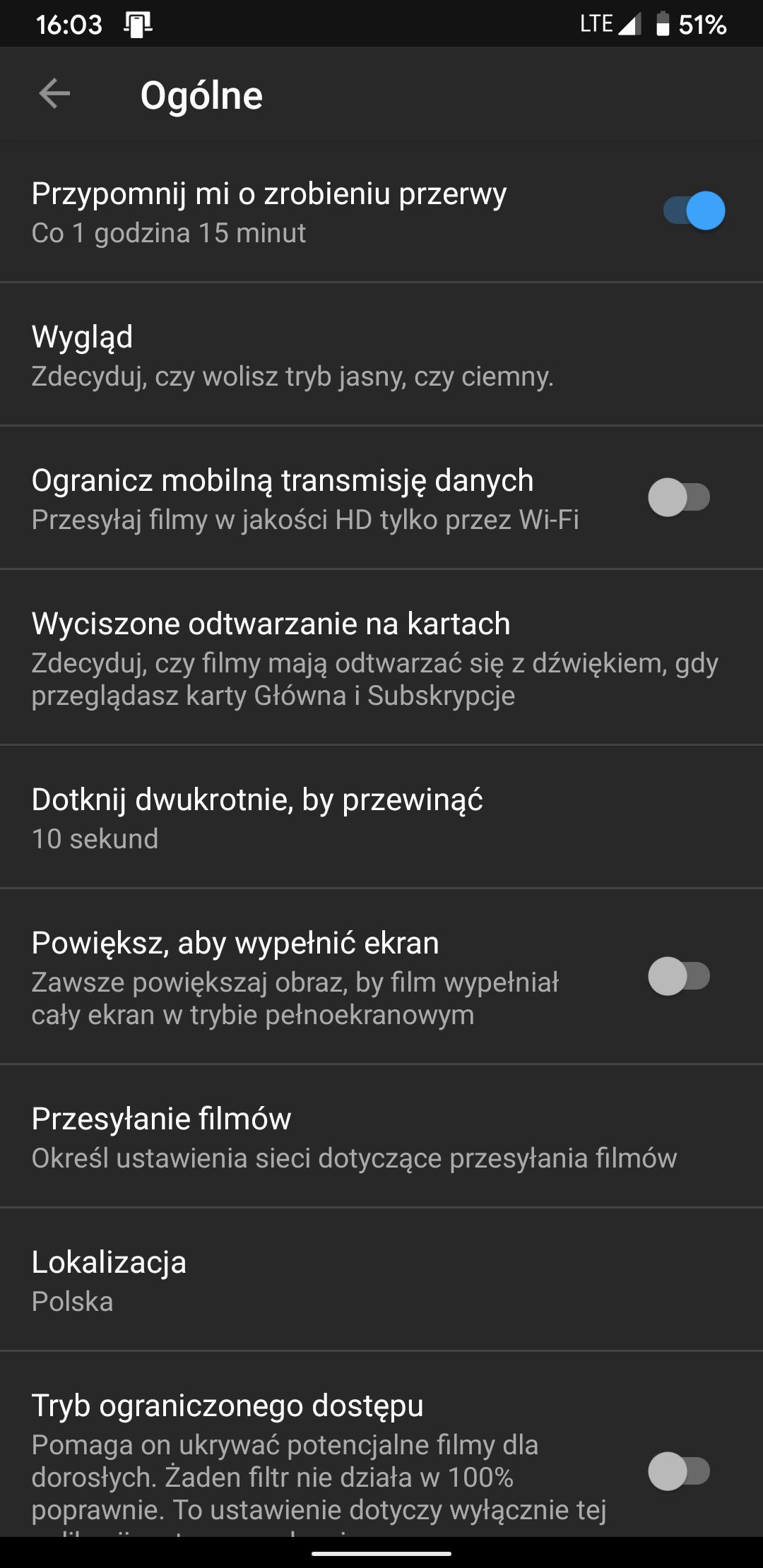 Aplikacja YouTube będzie nam przypominać, że już czas położyć się spać