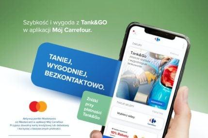 Carrefour Tank&Go – bezkontaktowe płacenie za paliwo w aplikacji 16