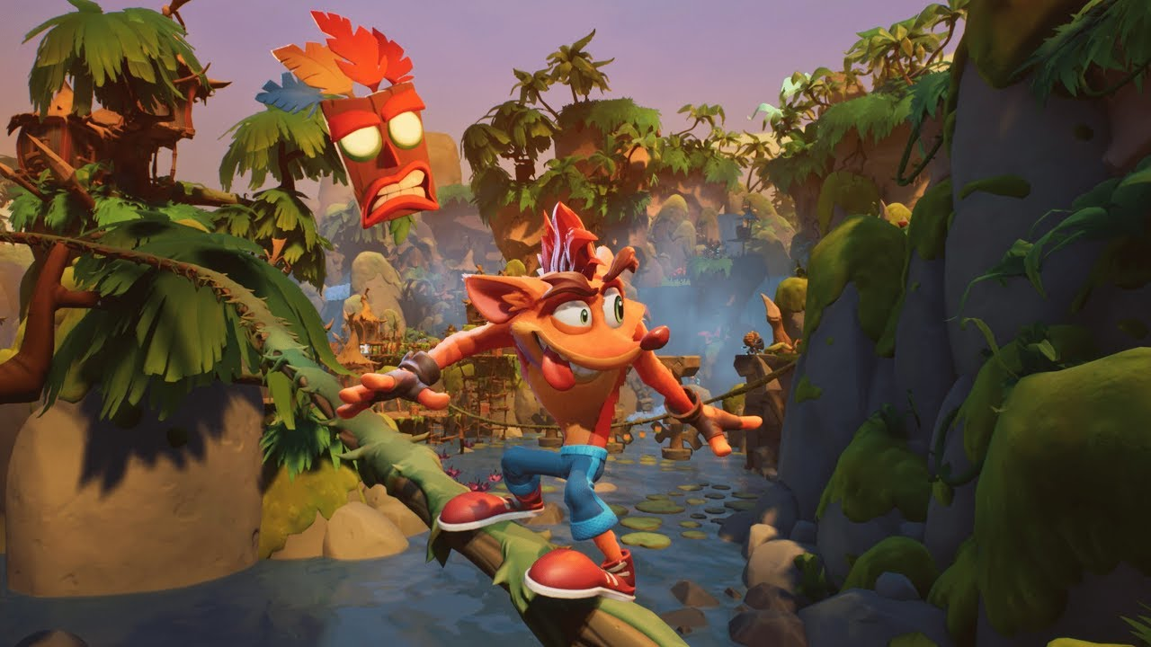 Crash Bandicoot 4: Najwyższy Czas PlayStation