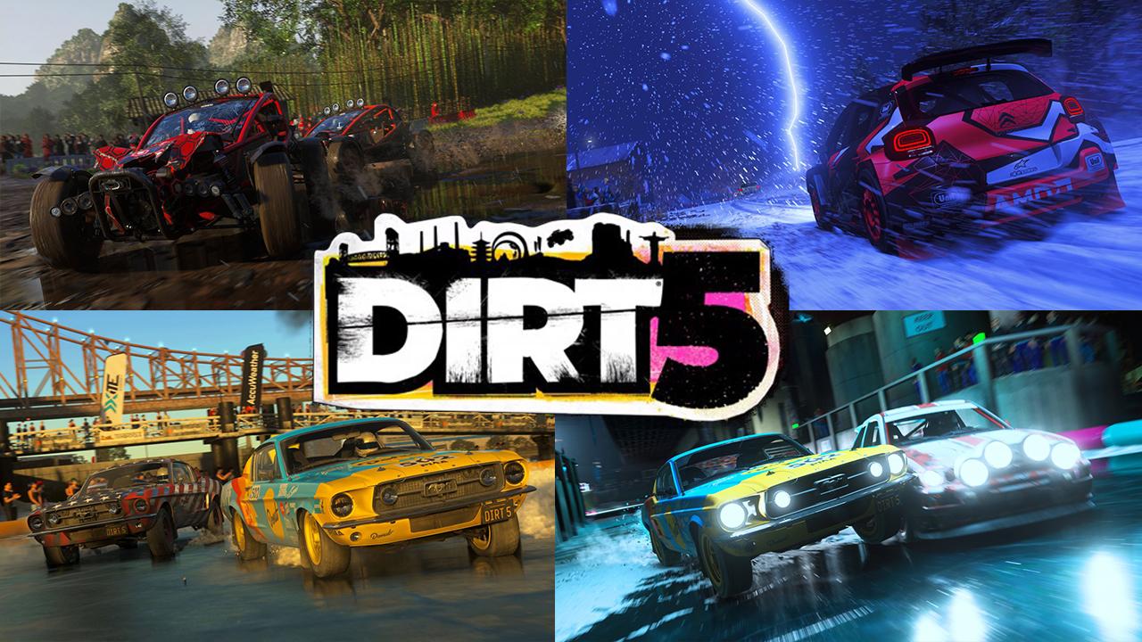 Błoto, frajda i szybkie samochody - graliśmy w DiRT 5!