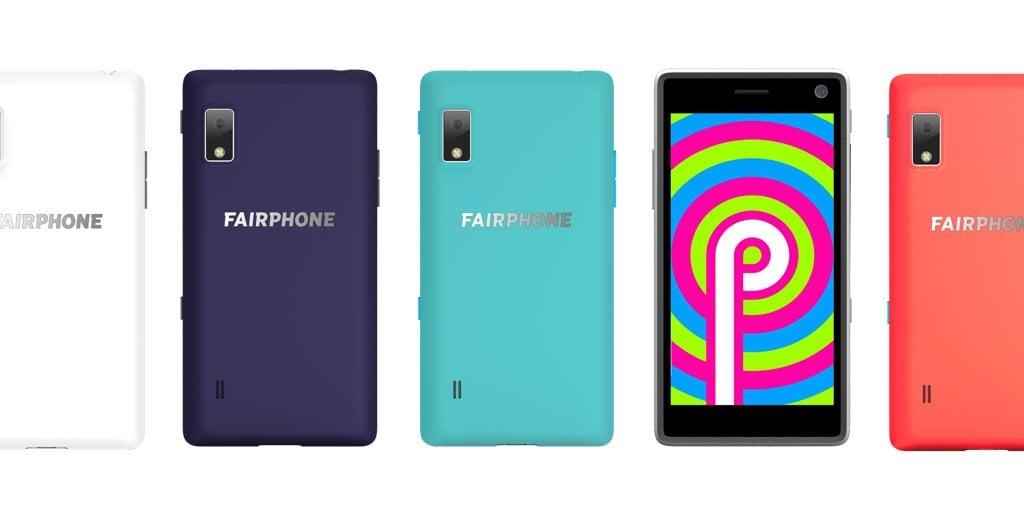 Fairphone 2 Android 9.0 Pie beta