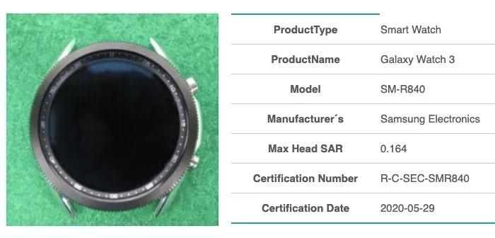 Samsung Galaxy Watch 3 na zdjęciach - ma coś, co wygląda jak obracany pierścień 20 galaxy watch 3