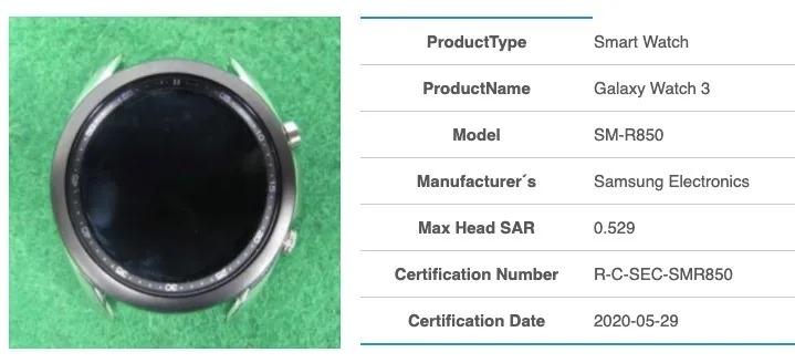 Samsung Galaxy Watch 3 na zdjęciach - ma coś, co wygląda jak obracany pierścień 19 galaxy watch 3