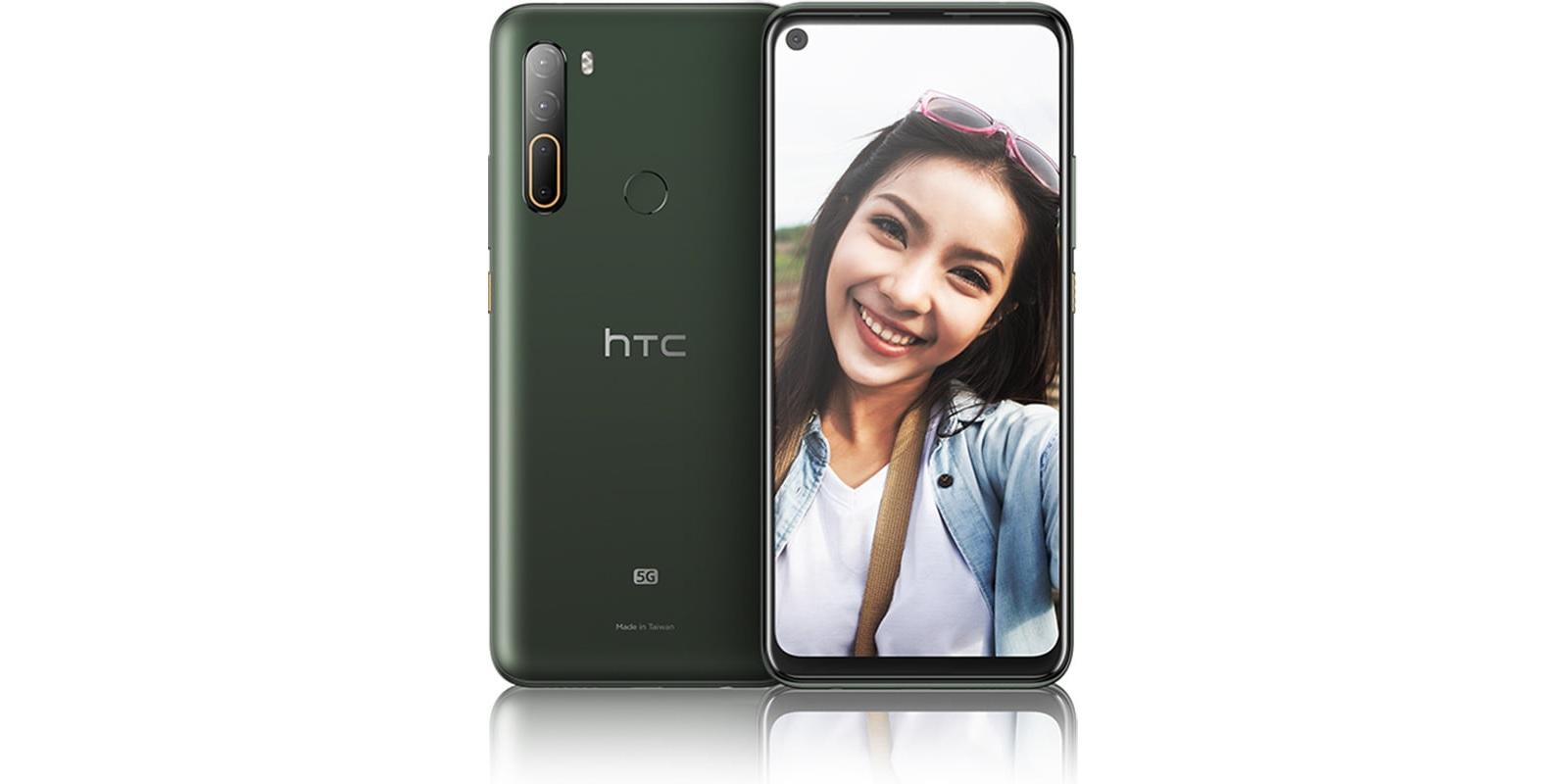HTC U20 5G smartphone