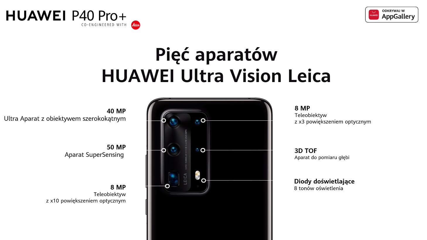 Huawei P40 Pro smartphone camera