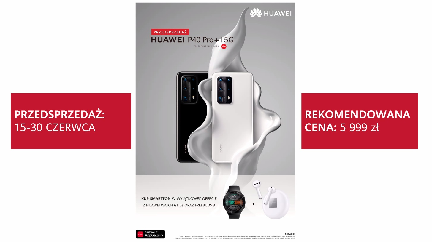 Huawei P40 Pro Plus smartphone pre-order offer
