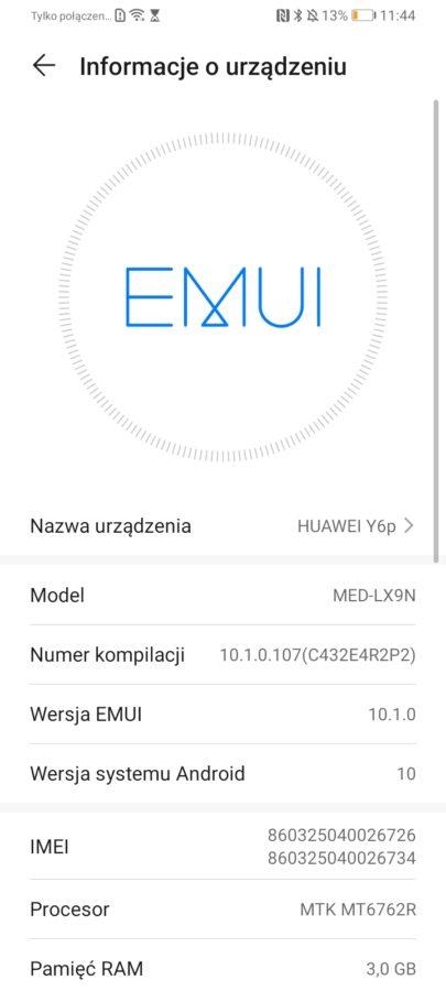 Recenzja Huawei Y6P - ładny, szybki i tani, ale...