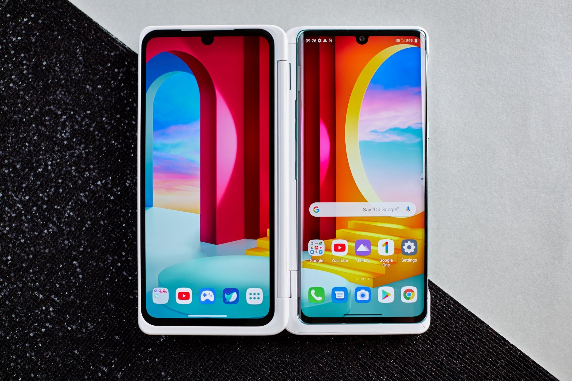 LG Velvet smartphone LG Dual Screen