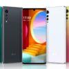 LG Velvet 4G 5G smartphone